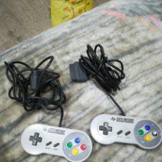 Videojogos e Consolas: 2 MANDOS SÚPER NINTENDO. Lote 189105450