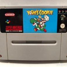Videojuegos y Consolas: YOSHI'S COOKIE SUPER NINTENDO SNES. Lote 190332862