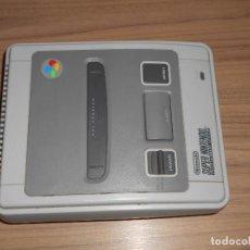 Videojuegos y Consolas: CONSOLA SUPER NINTENDO SNES PAL ESPAÑA FUNCIONANDO SIN CABLES. Lote 190426897