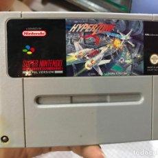 Videojuegos y Consolas: HYPERZONE SUPER NINTENDO SNES NES PAL CARTUCHO . Lote 190534681