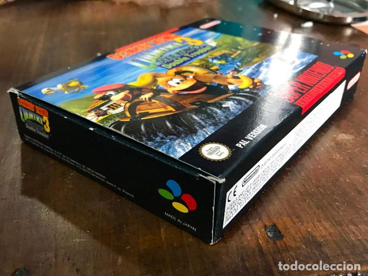 Videojuegos y Consolas: SUPER NINTENDO SNES DONKEY KONG COUNTRY 3 COMPLETO CAJA Y MANUAL VERSION ESPAÑOLA - Foto 2 - 192756832