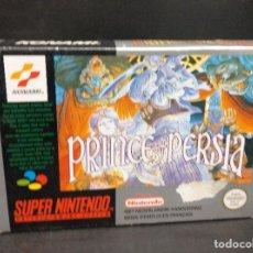 Videojuegos y Consolas: SUPERNINTENDO PRINCE OF PERSIA NUEVO A ESTRENAR. Lote 194530322