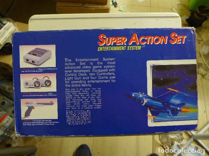 Videojuegos y Consolas: CONSOLA SUPER ACTION SET COMPATIBLE CON SUPER NINTENDO SNES 5000 BUILT IN - Foto 2 - 197247158
