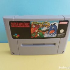 Videojogos e Consolas: ANTIGUO JUEGO PARA SNES SUPER NINTENDO SUPER MARIO WORLD 2 . Lote 197383510