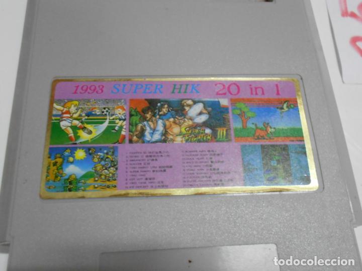 Videojuegos y Consolas: ANTIGUO CARTUCHO 20 JUEGOS - Foto 2 - 197812933