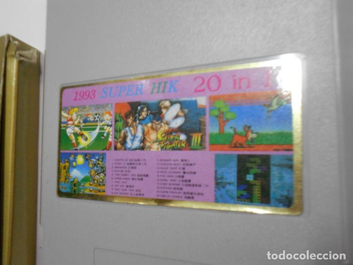 Videojuegos y Consolas: ANTIGUO CARTUCHO 20 JUEGOS - Foto 3 - 197812933