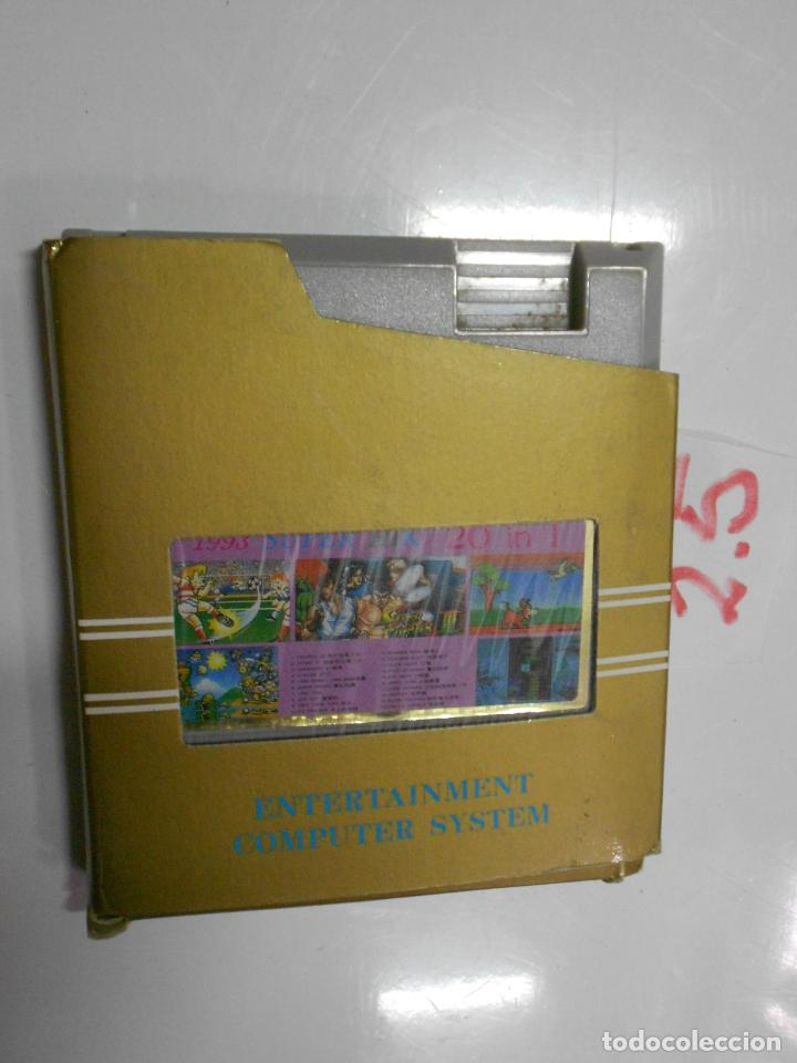 ANTIGUO CARTUCHO 20 JUEGOS (Juguetes - Videojuegos y Consolas - Nintendo - SuperNintendo)