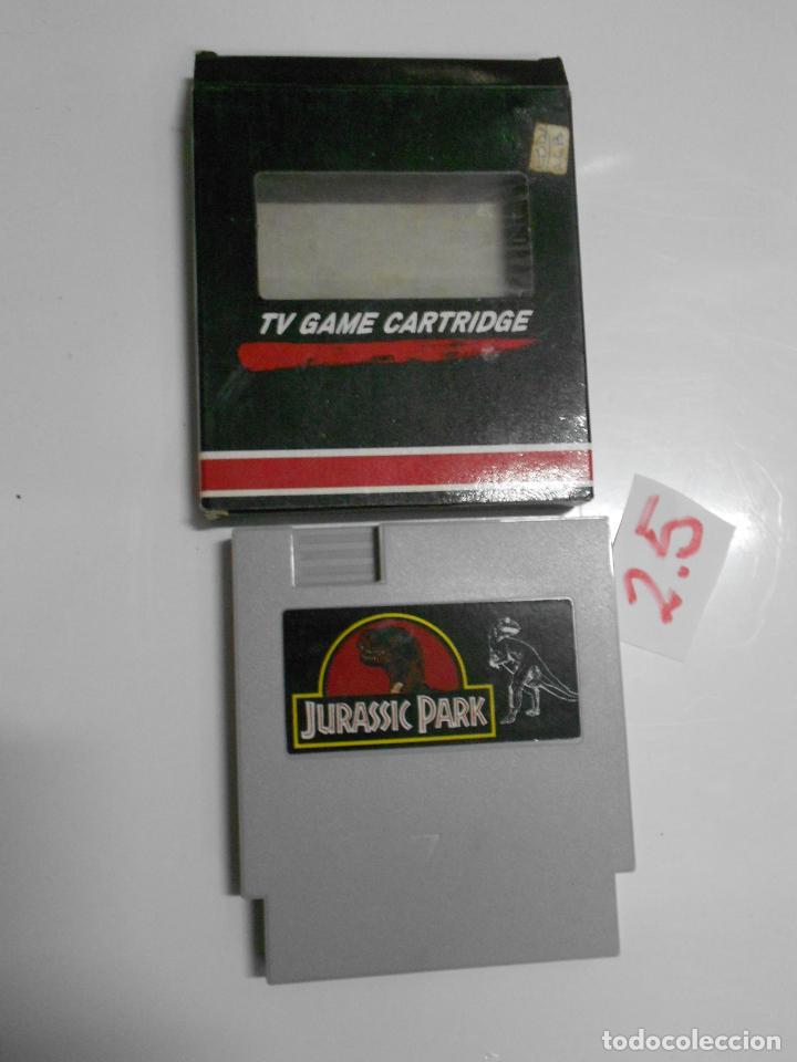 ANTIGUO CARTUCHO JUEGO JURASSIC PARK (Juguetes - Videojuegos y Consolas - Nintendo - SuperNintendo)