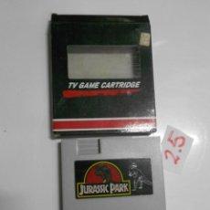 Videojuegos y Consolas: ANTIGUO CARTUCHO JUEGO JURASSIC PARK. Lote 197813771
