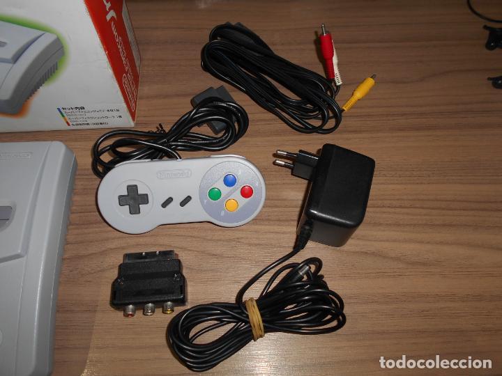 Videojuegos y Consolas: Consola SUPER FAMICOM JR Super NINTENDO Con su CAJA - PAD y adaptador de corriente para España - Foto 3 - 198941353