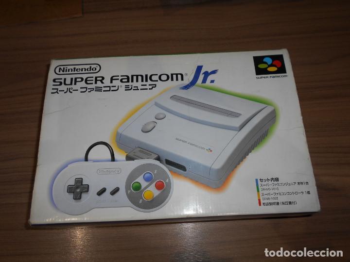 Videojuegos y Consolas: Consola SUPER FAMICOM JR Super NINTENDO Con su CAJA - PAD y adaptador de corriente para España - Foto 4 - 198941353