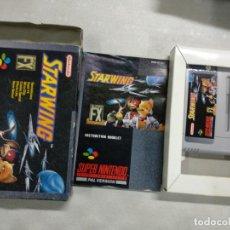 Videojogos e Consolas: STARWING STAR WING - SUPER NINTENDO SNES - COMPLETO - PAL UK. Lote 199118941