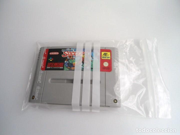 VIRTUAL SOCCER - SUPER NINTENDO SUPERNINTENDO SNES - CARTUCHO - MUY BUEN ESTADO (Juguetes - Videojuegos y Consolas - Nintendo - SuperNintendo)