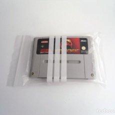 Videojuegos y Consolas: MORTAL KOMBAT - SUPER NINTENDO SUPERNINTENDO SNES - CARTUCHO - MUY BUEN ESTADO. Lote 199172821