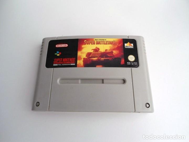 Videojuegos y Consolas: SUPER BATTLETANK - SUPER NINTENDO SUPERNINTENDO SNES - CARTUCHO - MUY BUEN ESTADO - Foto 2 - 199173047