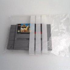 Videojuegos y Consolas: KING OF MONSTERS NTSC USA - SUPER NINTENDO SUPERNINTENDO SNES - CARTUCHO - MUY BUEN ESTADO. Lote 199173801
