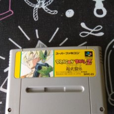 Videojuegos y Consolas: CARTUCHO DRAGON BALL Z SUPER BUTOUDEN. SUPER FAMICOM. SUPER NINTENDO. Lote 199476465
