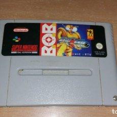 Videojuegos y Consolas: BOB B.O.B SUPER NINTENDO PAL ESPAÑA ELECTRONIC ARTS. Lote 199685313