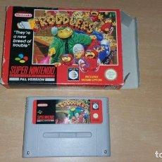 Videojuegos y Consolas: TRODDLERS SUPER NINTENDO PAL. Lote 199685471