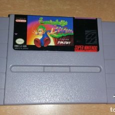 Videojuegos y Consolas: LEMMINGS SUPER NINTENDO NTSC AMERICANO. Lote 199685532