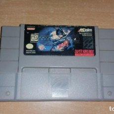 Videojuegos y Consolas: BATMAN FOREVER SUPER NINTENDO NTSC AMERICANO. Lote 199685552