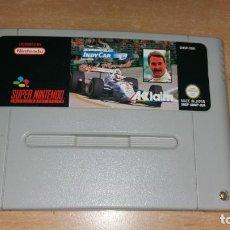 Videojuegos y Consolas: INDY CAR NIGEL MANSELL SUPER NINTENDO PAL. Lote 199686272
