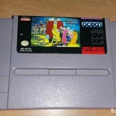 Videojuegos y Consolas: ADDAMS FAMILY PUSGLEYS SCAVENGER HUNT SUPER NINTENDO NTSC. Lote 199686358