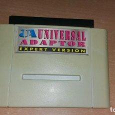Videojuegos y Consolas: ADAPTADOR UNIVERSAL EXPERT VERSION SUPER NINTENDO PAL NTSC JAP. Lote 199686561