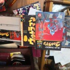 Videojuegos y Consolas: ULTRAMAN JUEGO SUPER NINTENDO SUPER FAMICOM BANDAI 1990 JAPAN EN CAJA SIN USO Y CON MANUAL . Lote 199707961