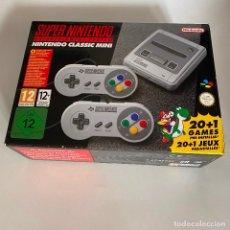 Videojuegos y Consolas: SUPER NINTENDO CLASSIC MINI 20+1 JUEGOS PRE-INSTALADOS. Lote 199727992