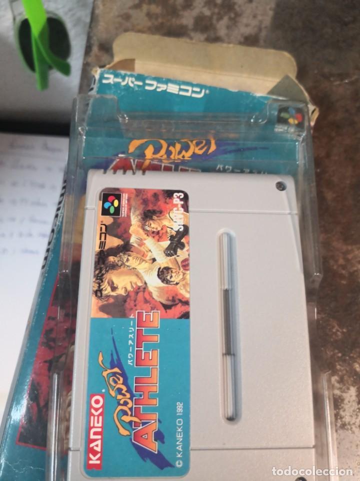 Videojuegos y Consolas: Juego POWER ATHLETE. KANEKO. MADE IN JAPÓN. SUPER FAMICOM - Foto 2 - 199930455