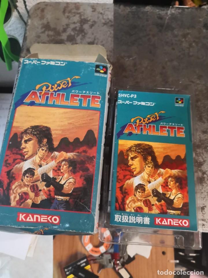 Videojuegos y Consolas: Juego POWER ATHLETE. KANEKO. MADE IN JAPÓN. SUPER FAMICOM - Foto 7 - 199930455