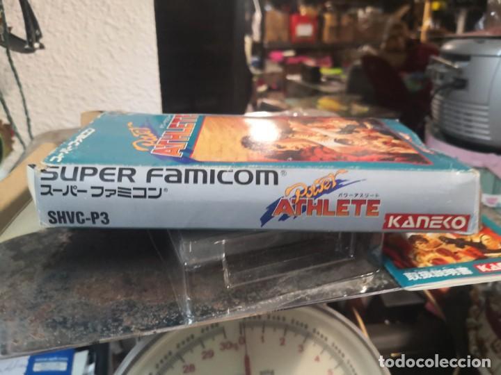 Videojuegos y Consolas: Juego POWER ATHLETE. KANEKO. MADE IN JAPÓN. SUPER FAMICOM - Foto 9 - 199930455