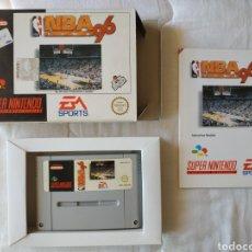 Videojuegos y Consolas: NBA LIVE 96 COMPLETO SUPER NINTENDO SNES. Lote 200305843