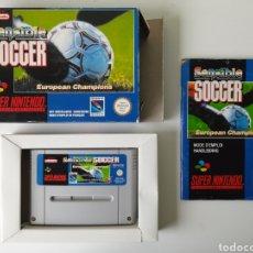 Videojogos e Consolas: SENSIBLE SOCCER SUPER NINTENDO SNES. Lote 200311138