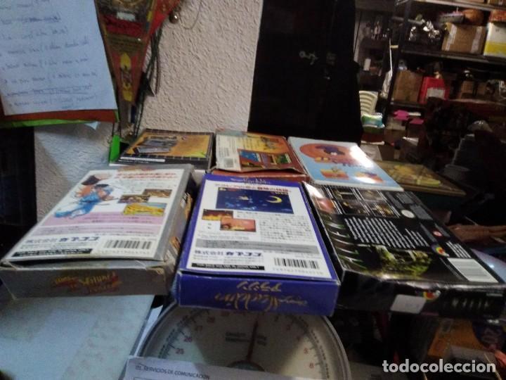 Videojuegos y Consolas: Lote 6 Juegos SUPER NINTENDO de Famicom y otros en su caja (Street fighter, Aladin, alien y otros) - Foto 3 - 200370401