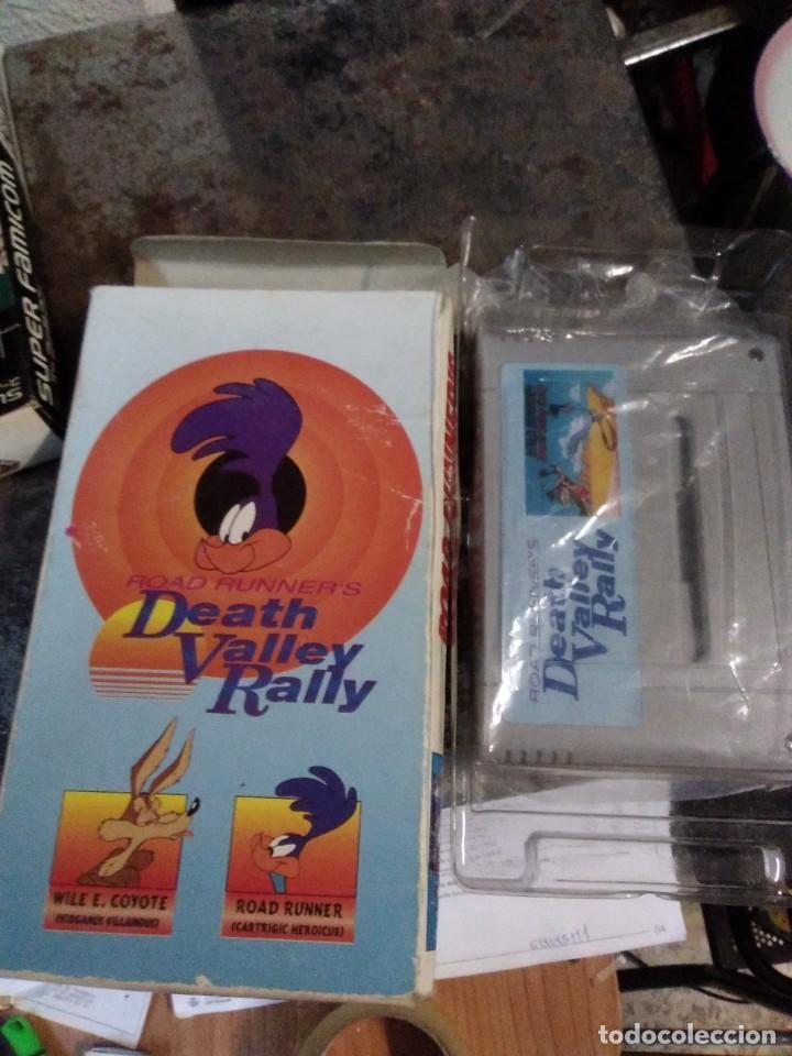 Videojuegos y Consolas: Lote 6 Juegos SUPER NINTENDO de Famicom y otros en su caja (Street fighter, Aladin, alien y otros) - Foto 7 - 200370401