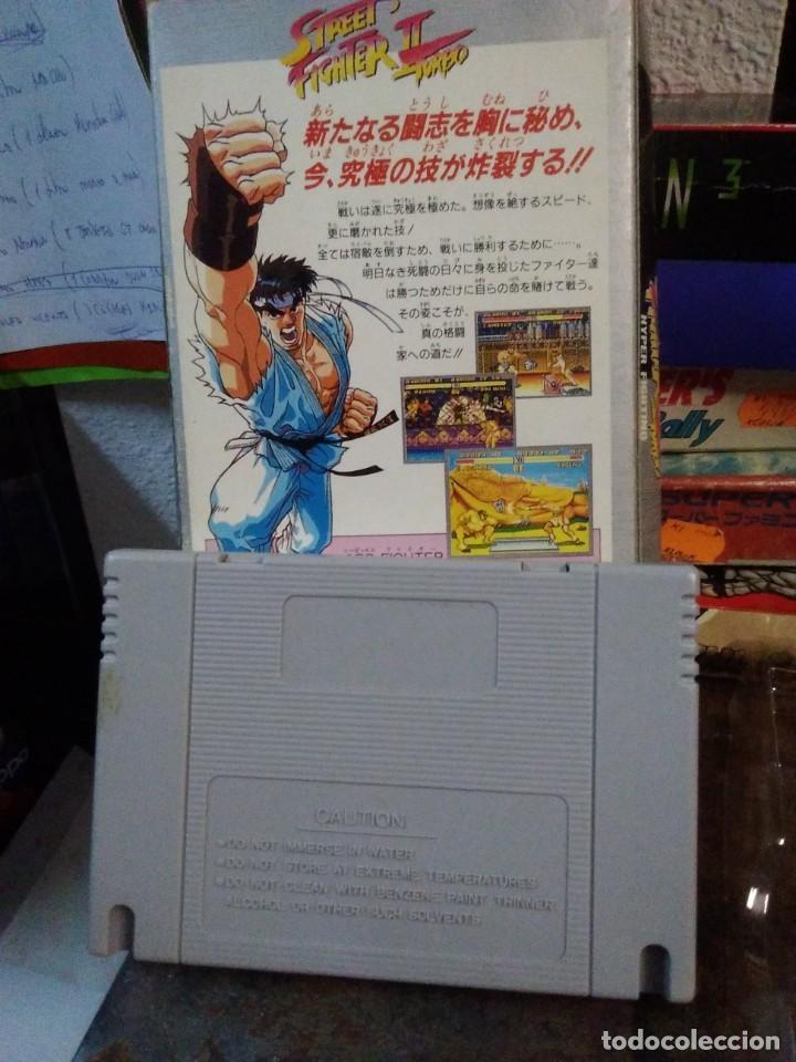 Videojuegos y Consolas: Lote 6 Juegos SUPER NINTENDO de Famicom y otros en su caja (Street fighter, Aladin, alien y otros) - Foto 13 - 200370401