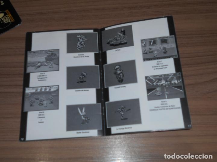 Videojuegos y Consolas: TURTLES IV TURTLES IN TIME Manual de Instrucciones Original SUPER NINTENDO Pal España CASTELLANO - Foto 2 - 201619966