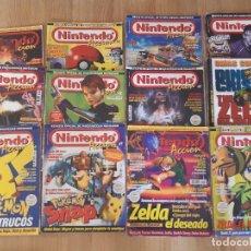 Videojuegos y Consolas: LOTE,NINTENDO ACCION. Lote 202890045