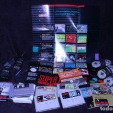Videojuegos y Consolas: LOTE SNES NINTENDO VIDEOCONSOLAS AÑOS 90 RETRO VINTAGE. Lote 203370697