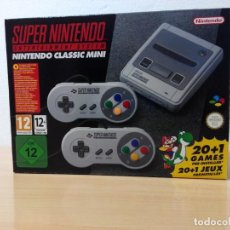 Videojuegos y Consolas: SUPER NINTENDO CLASSIC MINI. Lote 203782412