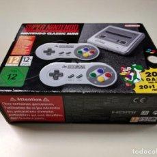 Videojuegos y Consolas: 0520- CONSOLA SUPER NINTENDO CLASSIC MINI 20 + 1 GAME CLVS SNPH EUR NUEVO Nº1. Lote 203792057