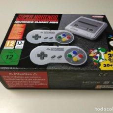 Videojuegos y Consolas: 0520- CONSOLA SUPER NINTENDO CLASSIC MINI 20 + 1 GAME CLVS SNPH EUR NUEVO Nº2. Lote 203793595