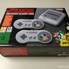 Videojuegos y Consolas: 0520- CONSOLA SUPER NINTENDO CLASSIC MINI 20 + 1 GAME CLVS SNPH EUR NUEVO Nº3. Lote 203795087