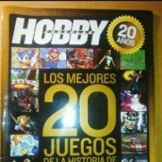 Videojuegos y Consolas: LOS 20 MEJORES JUEGOS DE HOBBY CONSOLAS. Lote 204023232