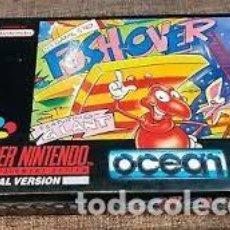 Jeux Vidéo et Consoles: PUSHOVER SNES. Lote 204599583