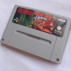 Jeux Vidéo et Consoles: DONKEY KONG COUNTRY - JUEGO PARA CONSOLAS SUPER NINTENDO - SNES - SOLO CARTUCHO - PAL. Lote 205001122