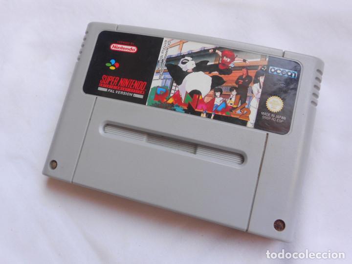 RANMA 1/2 - JUEGO PARA CONSOLAS SUPER NINTENDO - SNES - SOLO CARTUCHO - PAL ESPAÑA (Juguetes - Videojuegos y Consolas - Nintendo - SuperNintendo)
