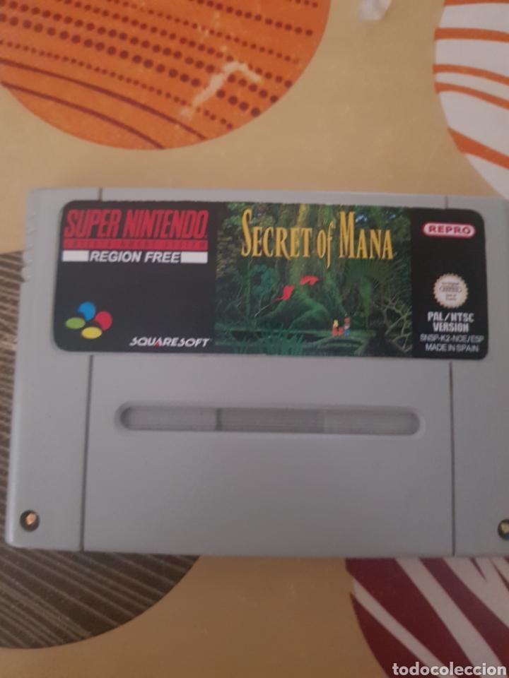 SECRET OF MANA (REPRO) (Juguetes - Videojuegos y Consolas - Nintendo - SuperNintendo)